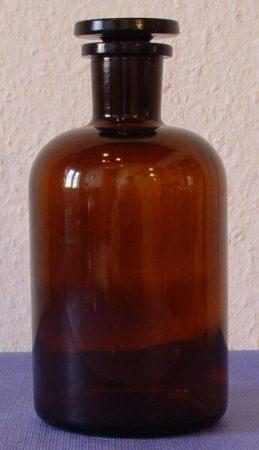Folyadéküveg, barna 2000 ml