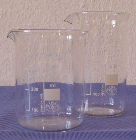 Főzőpohár, alacsony,   400 ml
