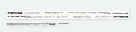 WIPAK AC 250/500 Dupla Kémiai Indikátor csík
