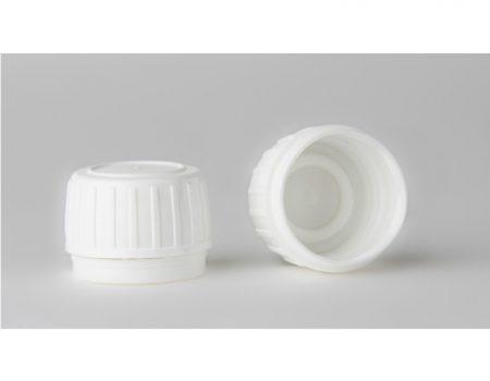 Gyógyszeres üvegre kupak, DIN 28, garanciazáras