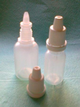 Szemcseppentő flakon, 10 ml, STERIL (20 db/csomag)